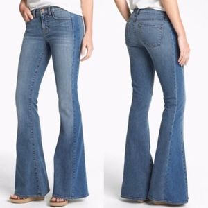 J Brand Mid Rise, Bell Bottom/Flare Jeans Size 26
